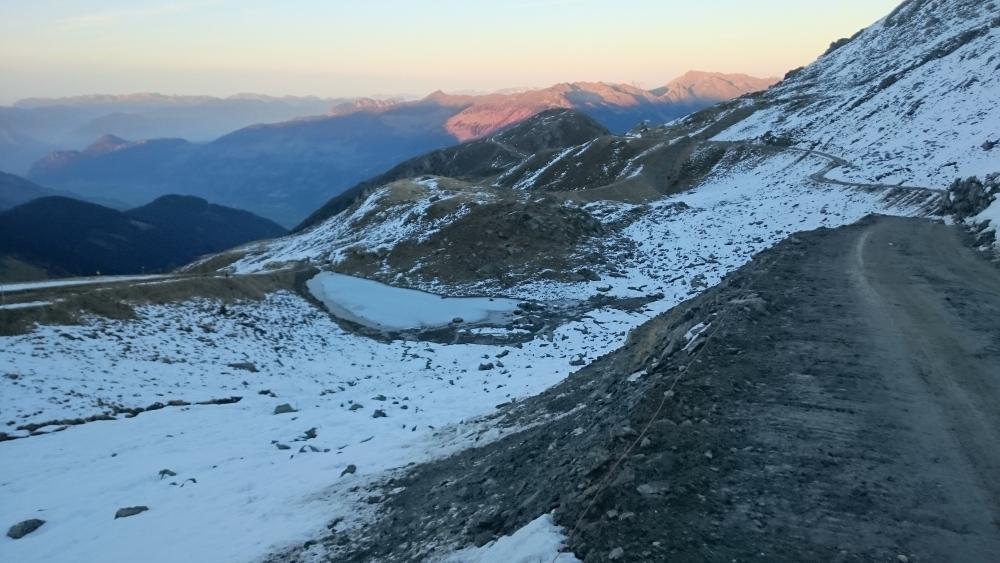 Geoelektrik im Gebirge - Bau eines Speichersees