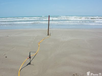 geoelectrics onshore - pipeline landfall