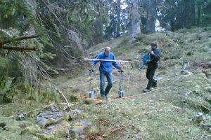 Georadar - Karsthohlraumdetektion