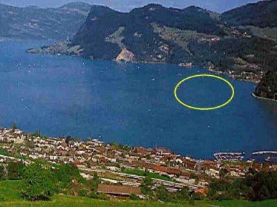 Kiessabbau am Vierwaldstätter See